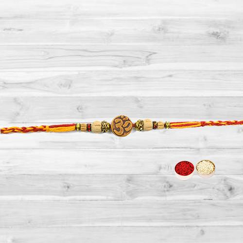 Rakhi with Pious Om in the Middle