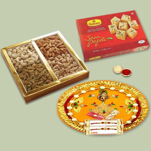 Charismatic Gift Hamper for Rakhi Celebration