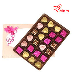 Chocolaty manner to greet Mom