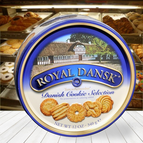 Imported Dansk Assorted Cookies