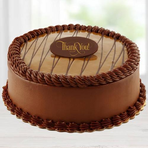 Chocolate Flavor Eggless Cake