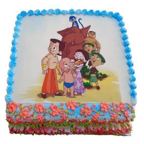 Palatable Joy 2.5 Kg Chota Bheem Cake