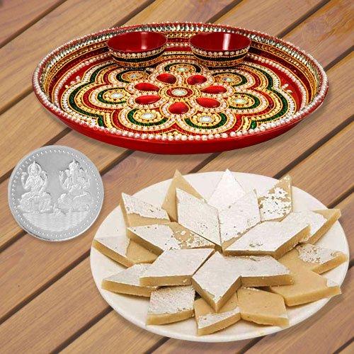 Haldiram Badam Katli N Thali , Free Coin
