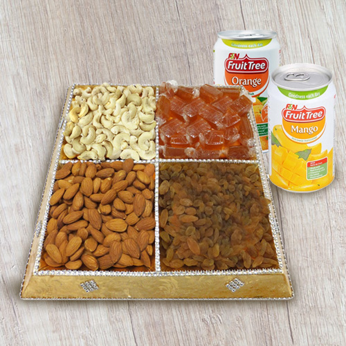 Snack�s Elect Dry Fruit and Beverage Gathering