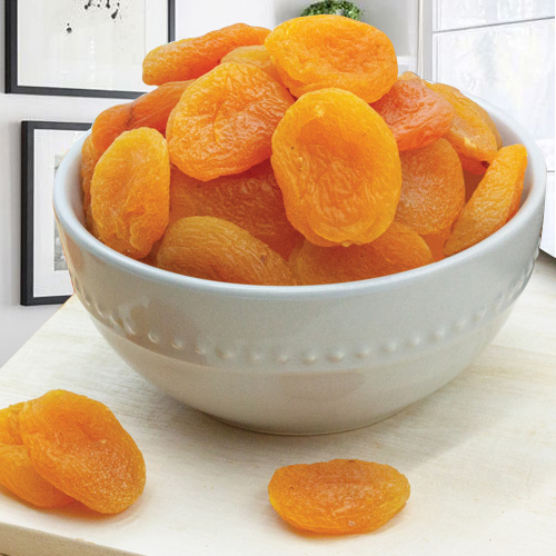 Apricots Send this sumptuous array of apricots to your near and dear ones to add light to any festival