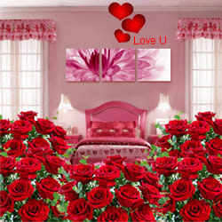 <u><font color=#008000> MidNight Delivery : </FONT></u>:Room Full of Roses