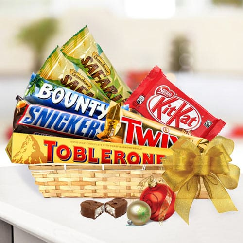 Finest Chocolate Selection Gift Basket<br>