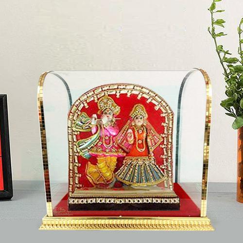 Exquistely Designed Radha Krishna