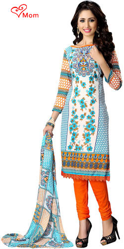 Chic Suredael Branded Colourful Cotton Printed Suit