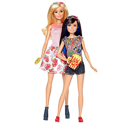 Charming Collection of Barbie N Skipper Doll Set for Little Princess