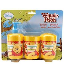 Lovely Winnie the Pooh Pattern Bathroom Set