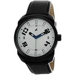 Fancy Fastrack Gents Watch in Silver Dial