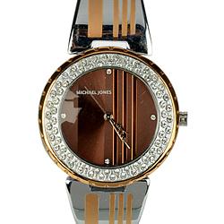 Creative Present of a Metal Wrist Watch for Women