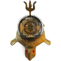 Shri Yantra Tortoise