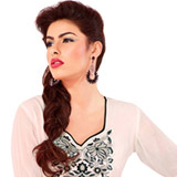 Sprightly Grace Georgette Kurti