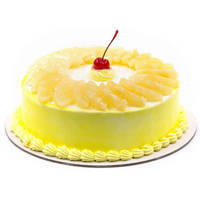 Appetizing Pineapple Cake from <font color=#FF0000><strong>Taj or 5 Star Hotel</strong></font> bakery to Santoshnagar Colony
