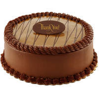 Tempting fresh Chocolate flavor Eggless Cake to Lunger House