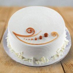 Luscious 1 Lb Vanilla Cake from 3/4 Star Bakery