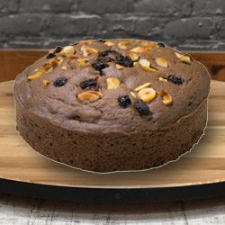 3/4 Star Bakery's Salutary Geniality 2.2 Lb Fresh Baked Eggless Cake