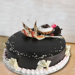 Exceedingly Delightfully Truffle Cake from 3/4 Star Bakery