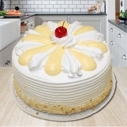 3/4 Star Bakerys Enigma of Taste 2 Kg Vanilla Cake
