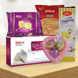 Delightful Combo from Haldiram
