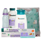Scintillating Baby Care Gift Arrangement with Soft Touch of Affection