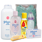Attractive Johnson Baby Care Gift Kit With Touch of Love
