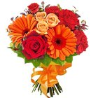 Beautiful Bouquet of Seasonal Flowers to Trimulghirry
