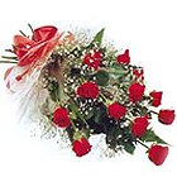 Premium Love 12 Red Roses Bunch