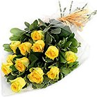 Delightful Soul Mates Forever Yellow Roses Collection