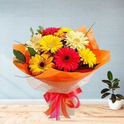 Cultivating Comeliness Gerberas Bouquet
