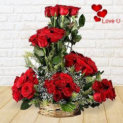 Spiritual Hypnotization Valentine�s Day Rose Cluster