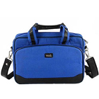 Jazzy Office Documents Holder & Laptop Bag in Blue from Vaunt