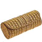 Amazing Golden Leather Evening Clutch Bag for Ladies from Spice Art