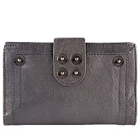 Elegant and Long Lasting Leather Grey Wallet for Women