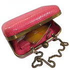 Fascinating Spice Art Pink coloured Leatherite Box Clutch for Pretty Ladies