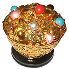 Shining and Beautiful Feng Shui Wealth Bowl