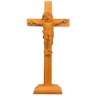 Religious Sandalwood Crucifix
