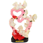 Gorgeous Double Hearts with Love Birds Set