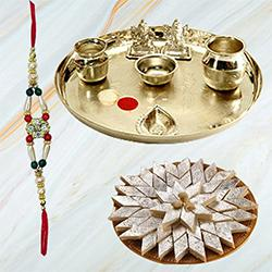 Yummy Sweet Treat with Rakhi Thread