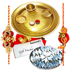 Special Gold Plated Thali Hamper 4