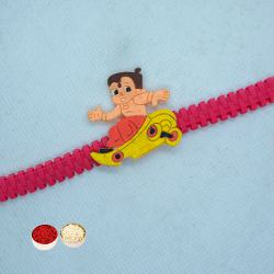 Magical Angry Bird Band Rakhi for Kids