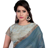 Florid Fairness Grey Super Coting Saree