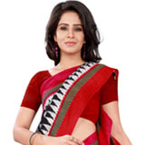 Chromatically Radiant Bhagalpuri Silk Saree