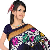 Charismatic Printed Art Silk Saree