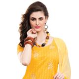 Astonishing Yellow Coloured Salwar Kameez with Dupatta
