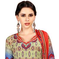 Lovely Spun Cotton Floral Print Salwar Suit for Ladies