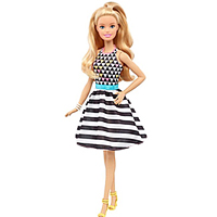 Eye-Catching Barbie Fashionistas Doll for Little Princess