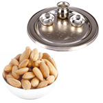 Illuminating Diwali Thali WITH Almonds
